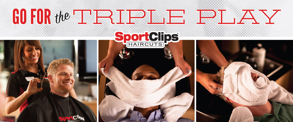 The Sport Clips Haircuts of Avon Triple Play